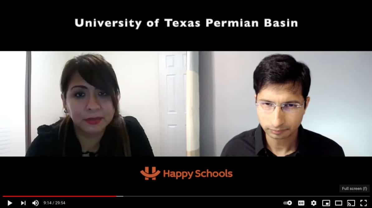 University of Texas Permian Basin Interview with MBA Grad Student Guilliana