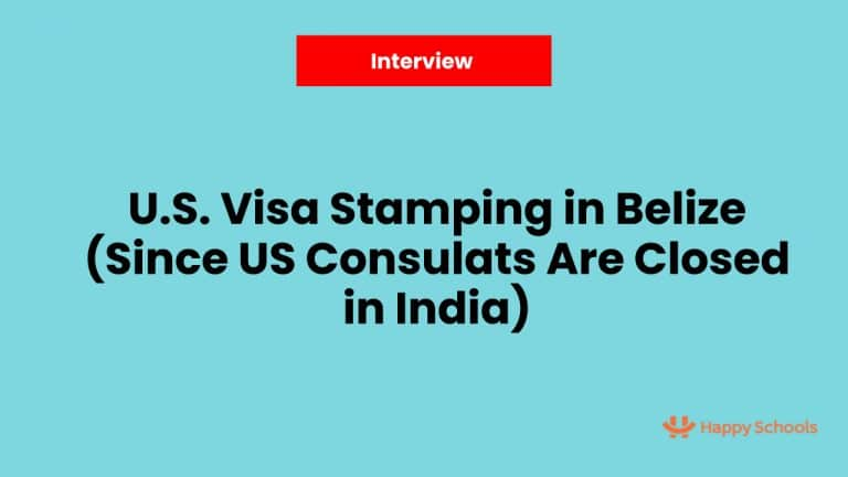 Visa Stamping in Belize as Third Country National Due Since US Consulates Are Closed in India – Interview With Neha