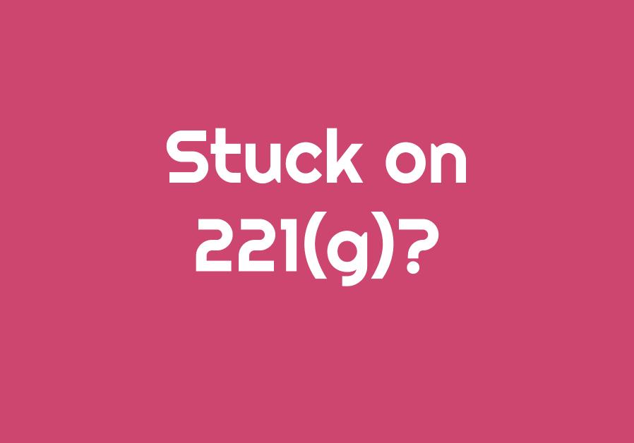 221g stuck
