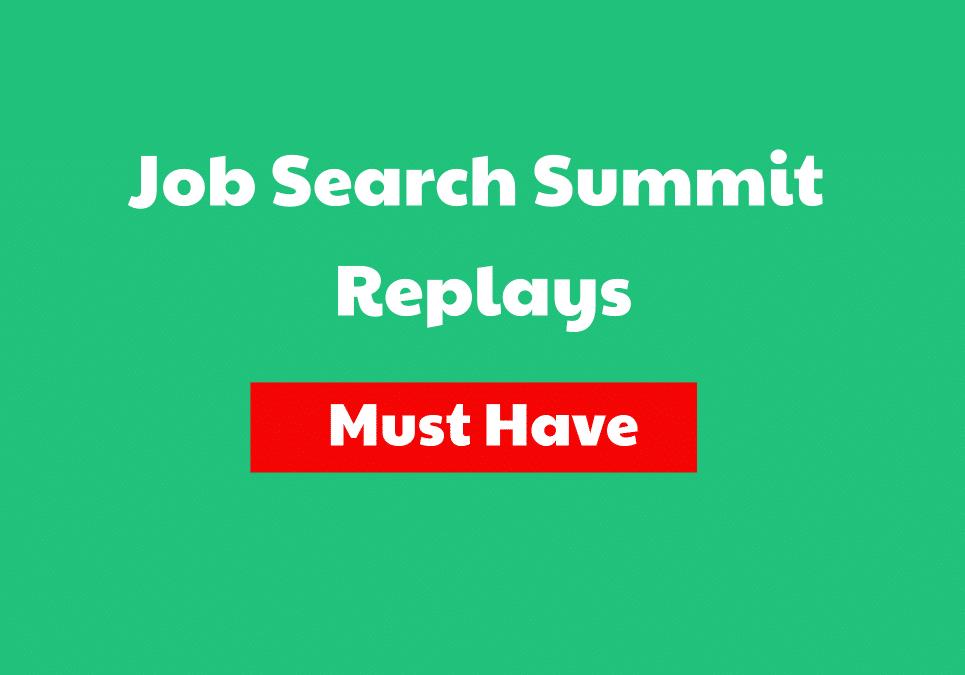 Job Search Summit Replays