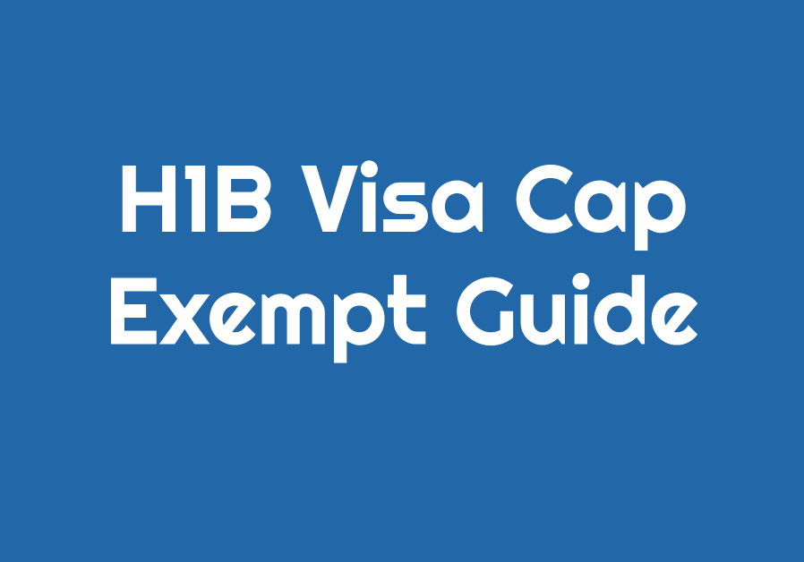 h1b cap exempt